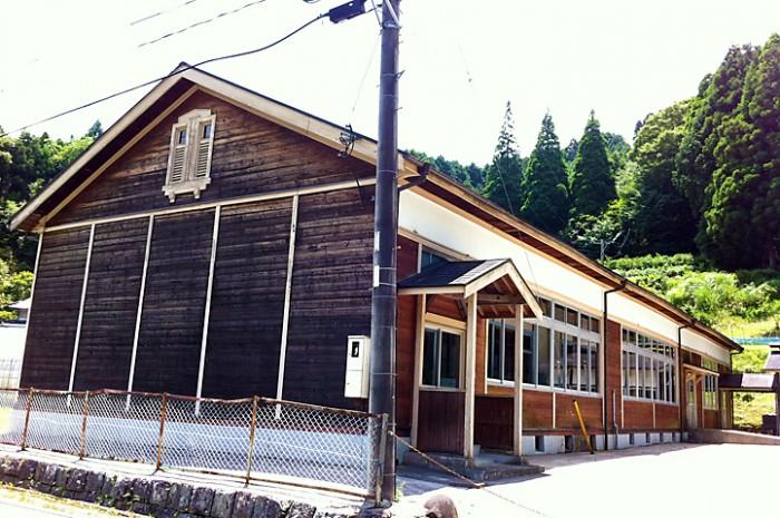 旧帆柱小学校