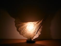 八女手漉き和紙 プリーツ加工フロア照明